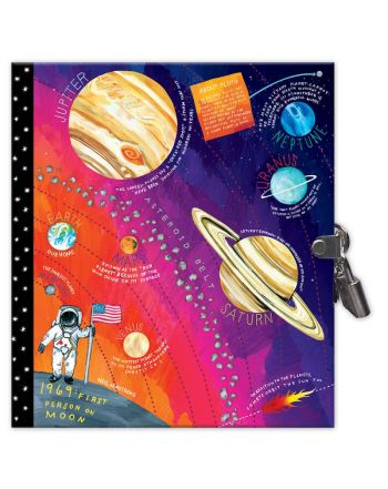 Σημειωματάριο με Κλειδαριά, Space Adventure