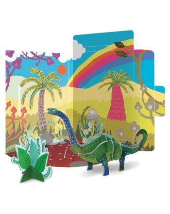 3D Puzzle Κατασκευή Δεινόσαυρος, Diplodocus