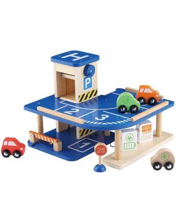 Ξύλινο Parking Garage