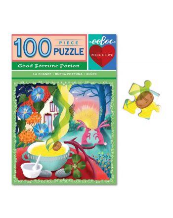 Puzzle 100 κομ, Piece & Love, Good Fortune