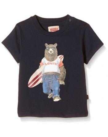 T-Shirt Teddy, Dark Blue