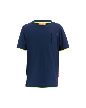Μπλούζα κοντό μανίκι με προστασία UV Blue