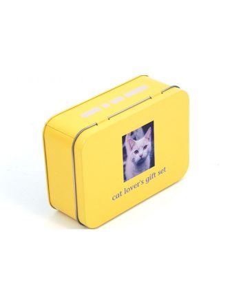 Σετ για Γάτες σε Μεταλλικό Κουτί