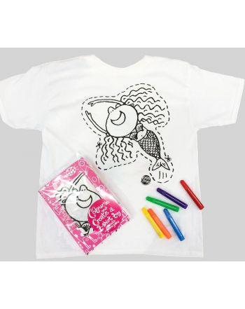 Ζωγράφισε το δικό σου T-Shirt, Maude η Γοργόνα