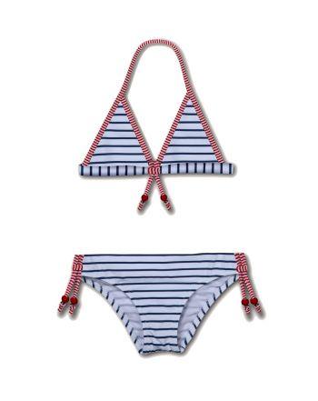 Μαγιό Stripe Bikini, 7-8yrs