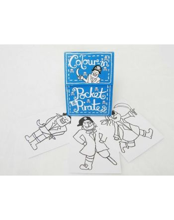 Color-in Pocket Book, Pirates