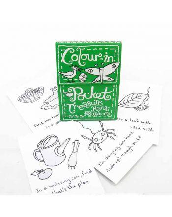 Color-in Pocket Book, Παιχνίδι Θησαυρού για τον Κήπο