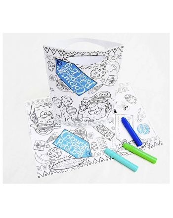 Color-in Party Bag, Pirates