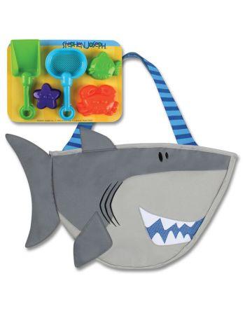 Τσάντα θαλάσσης με παιχνίδια, Shark