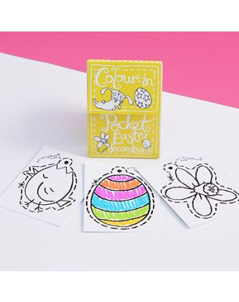 Color-in Pocket Book, Easter