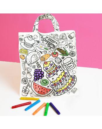 Ζωγράφισε τη δική σου Shopping Bag