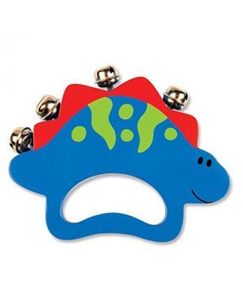 Ξύλινο Παιχνίδι με Κουδούνια, Dino