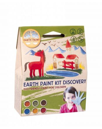 Οικολογικά Χρώματα Paint Kit Experience
