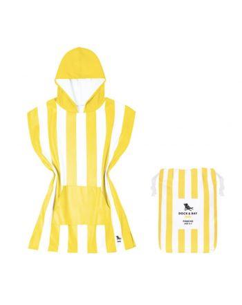 Παιδικό πόντσο Quickdry, Boracay Yellow
