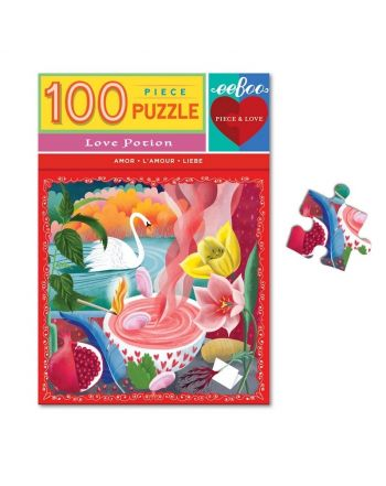 Puzzle 100 κομ, Piece & Love, Love Potion