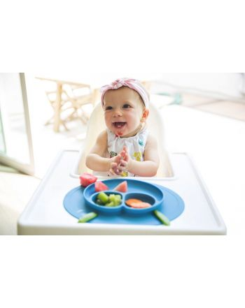 Placemat & Πιάτο, Happy mat, Blue