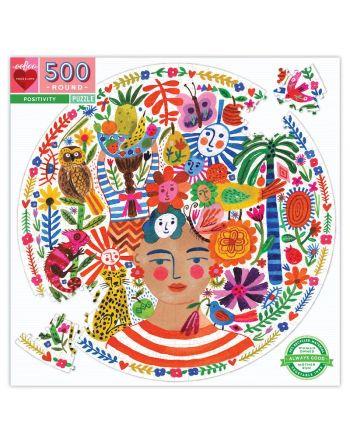 Round Puzzle 500 κομ, Positivity