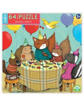 Παιδικό Puzzle 64 κομ, Animal Party