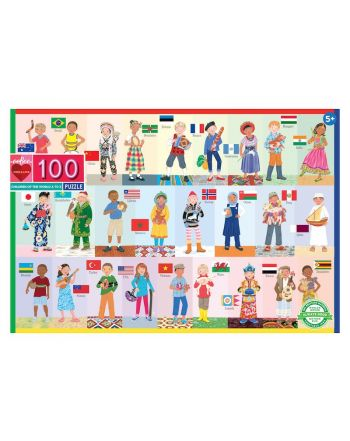 Παιδικό Puzzle 100 κομ, Children of the Word A-Z