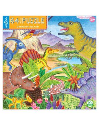 Παιδικό Puzzle 64 κομ, Dinosaur Island
