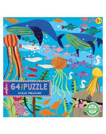 Παιδικό Puzzle 64 κομ, Ocean Treasure