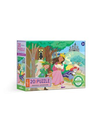 Παιδικό Puzzle 20 κομ, Princess Adventure
