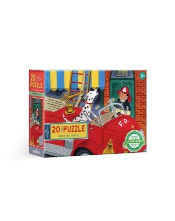 Παιδικό Puzzle 20 κομ, Red Firetruck