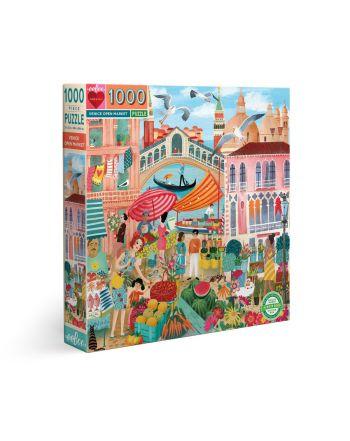 Puzzle 1000 κομ Piece & Love, Venice Open Market