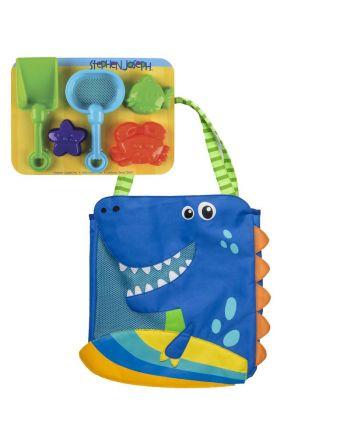 Τσάντα θαλάσσης με παιχνίδια, Dino