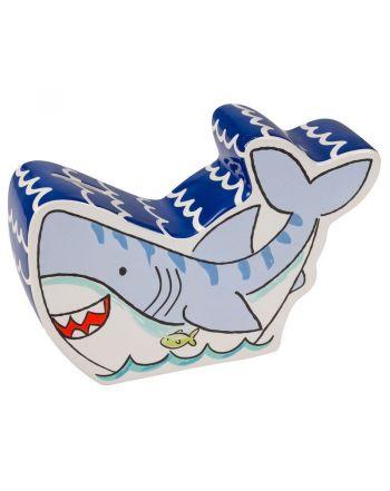 Κεραμικός Κουμπαράς, Shark