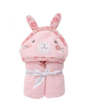 Βρεφική Πετσέτα με Κουκούλα, Bunny