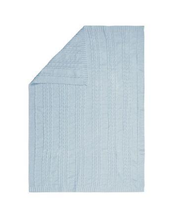 Βρεφική Κουβέρτα, Chenille Blue