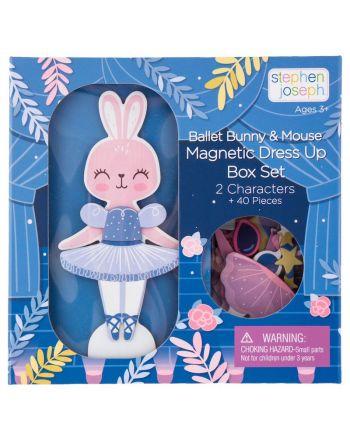 Μαγνητικό Παιχνίδι, Dress Up Doll, Bunny