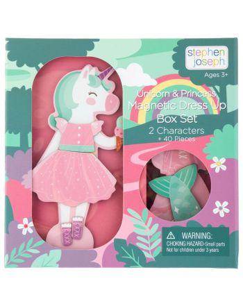 Μαγνητικό Παιχνίδι, Dress Up Doll, Unicorn