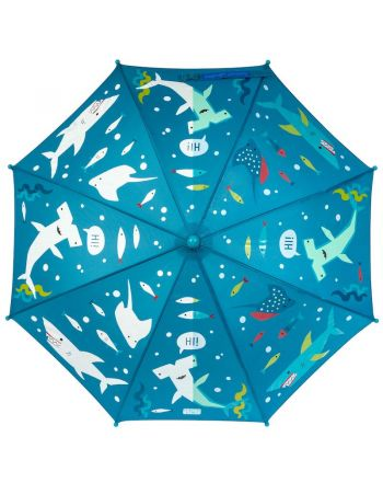 Παιδική Ομπρέλα, που αλλάζει χρώμα, Shark