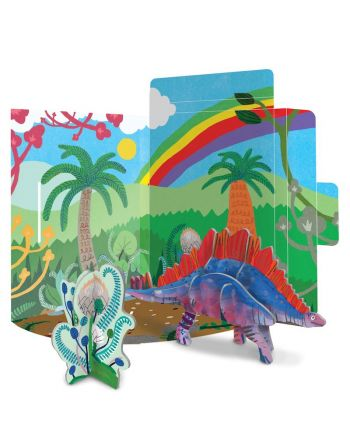 3D Puzzle Κατασκευή Δεινόσαυρος, Stegosaurus