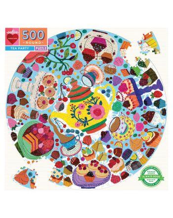 Round Puzzle 500 κομ, Tea Party