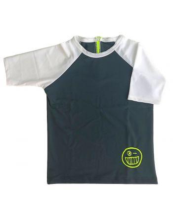Μπλούζα με προστασία UV, Grey/White