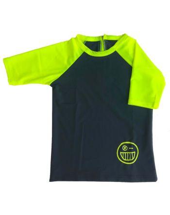 Μπλούζα με Προστασία UV, Grey/Yellow