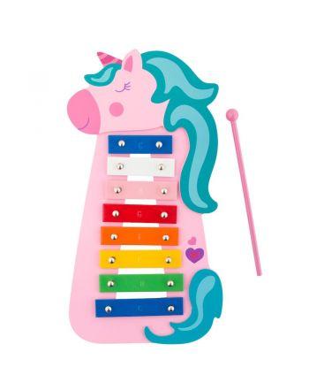 Παιδικό Ξυλόφωνο, Pink Unicorn