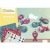 Decopatch, Χειροτεχνία Decoupage & Μαγνητικό Παιχνίδι, Fishing